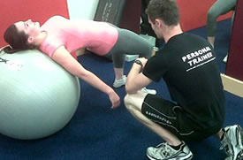 Personal Trainer Oliver Ody in action, Eastbourne